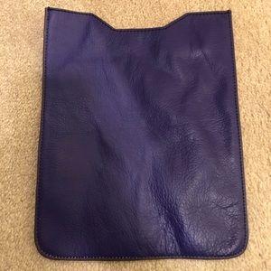 Accessories - Like new purple leather sleeve